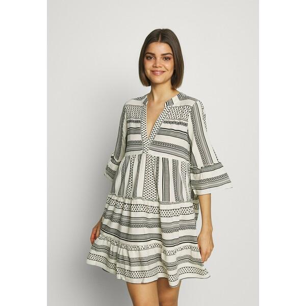 Vero Moda Sukienka letnia birch/dicthe/black VE121C1SF