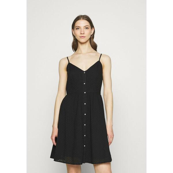 ONLY ONLHENRY DRESS Sukienka letnia black ON321C2CY