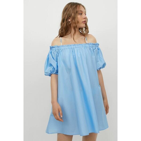 H&M Sukienka plażowa 0945294002 Jasnoniebieski