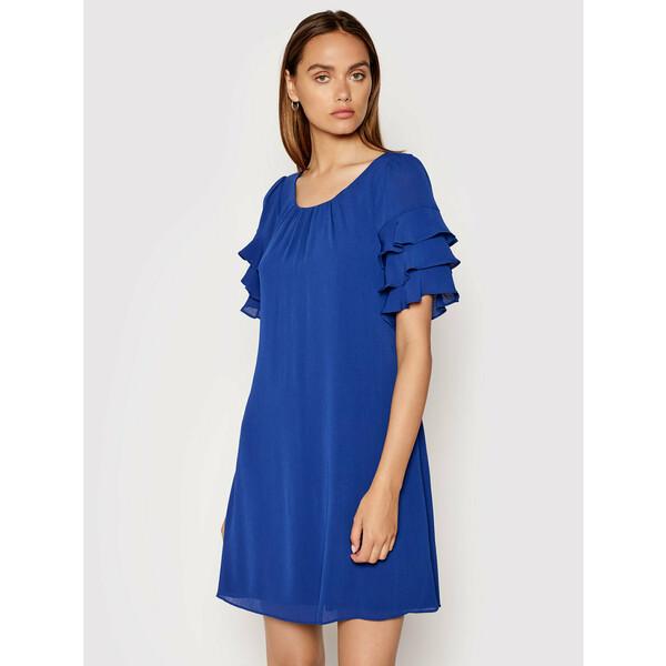 DKNY Sukienka koktajlowa DD1ED684 Niebieski Regular Fit