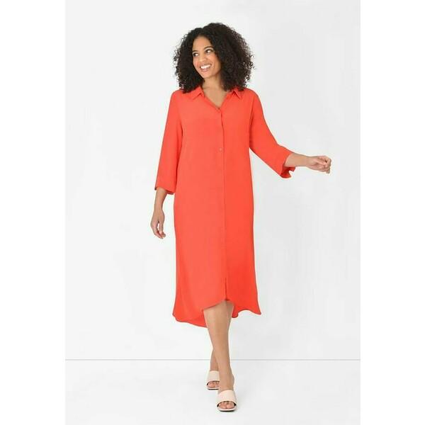 Live Unlimited London BURNT Sukienka koszulowa orange L0J21C06H