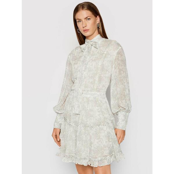 IXIAH Sukienka letnia X211-80513 Biały Regular Fit