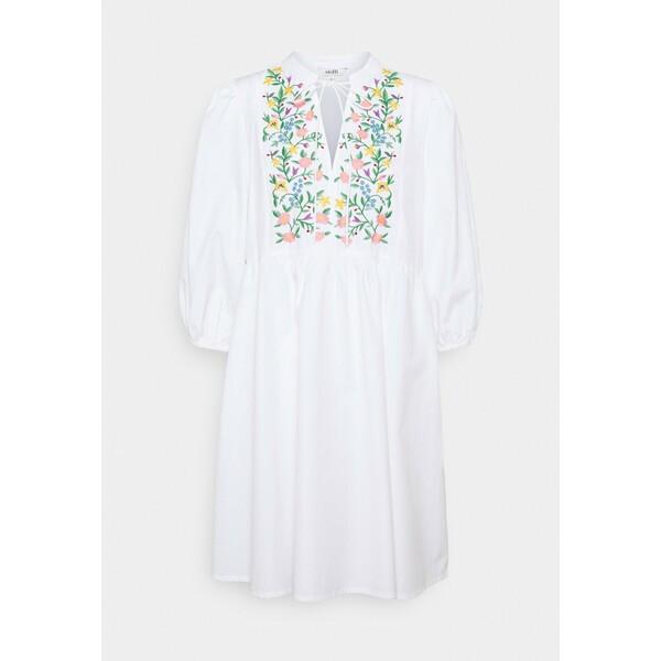 mbyM ETIENNE Sukienka letnia white MB121C0DW