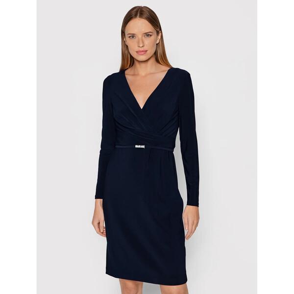 Lauren Ralph Lauren Sukienka codzienna 250751773008 Granatowy Regular Fit