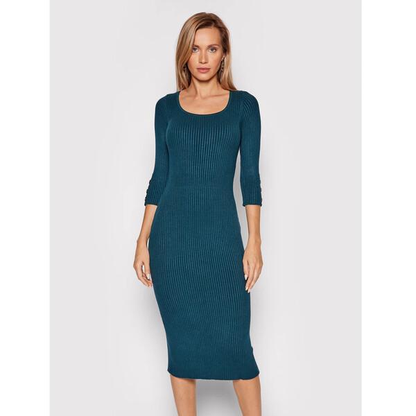 Marciano Guess Sukienka dzianinowa Edie 1BGK60 5613Z Zielony Slim Fit