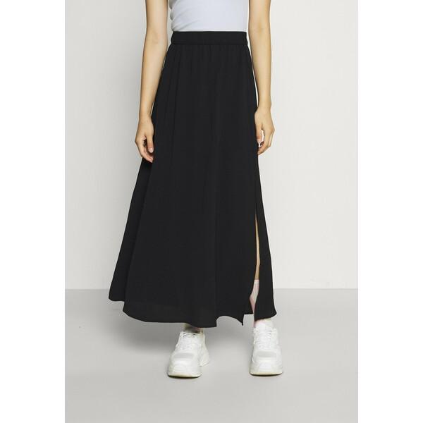 Vero Moda VMSAGA SLIT SKIRT Spódnica trapezowa black VE121B0SP