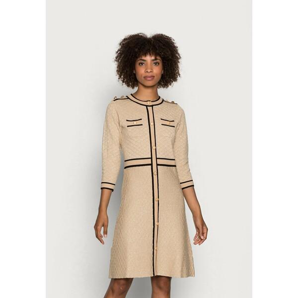 Derhy QUALIFIABLE Sukienka letnia beige RD521C0KO