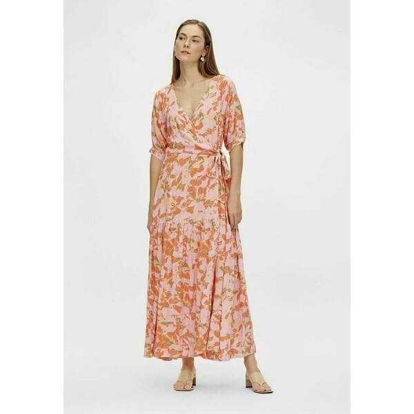 YASJUNA Długa sukienka golden straw Y0121C1NH
