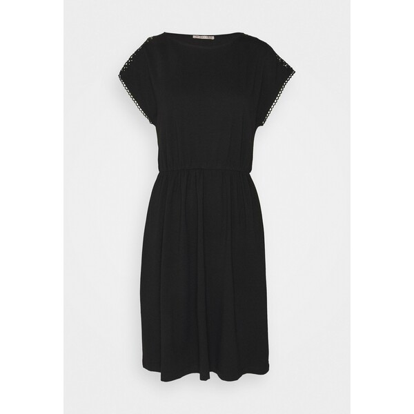 Anna Field Sukienka z dżerseju black AN621C1IG