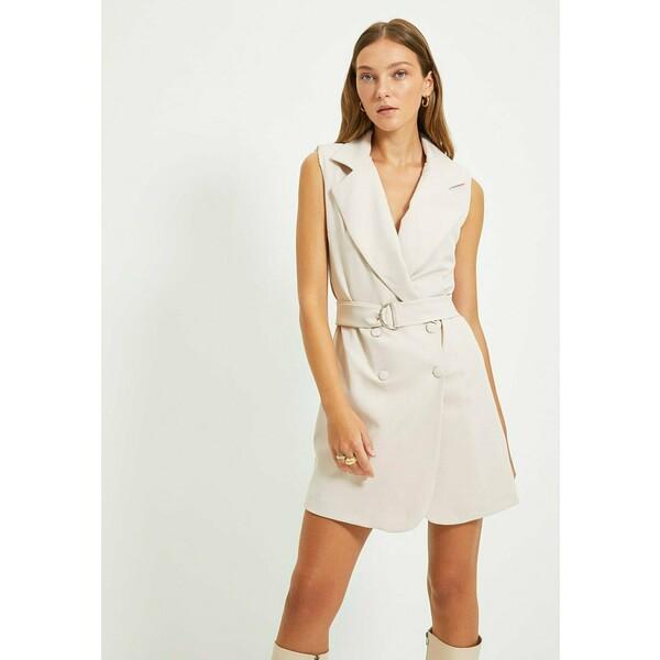 Trendyol Sukienka koszulowa grey TRU21C0SM