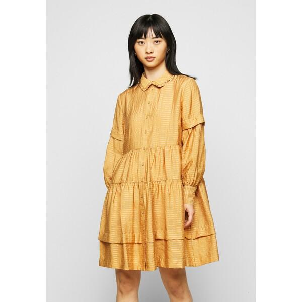 YAS Petite YASLORI DRESS Sukienka letnia brown sugar YA521C00L
