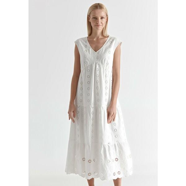TATUUM OLENA Sukienka letnia off white TAS21C01F