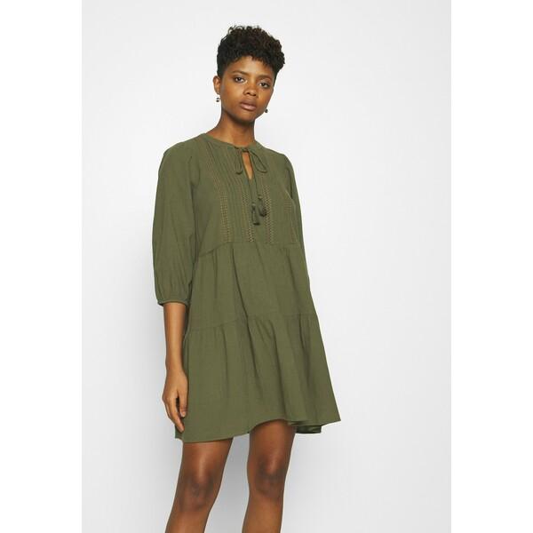 Vero Moda VMMUSTHAVE BOHO 3/4 TUNIC Sukienka letnia ivy green VE121C28T