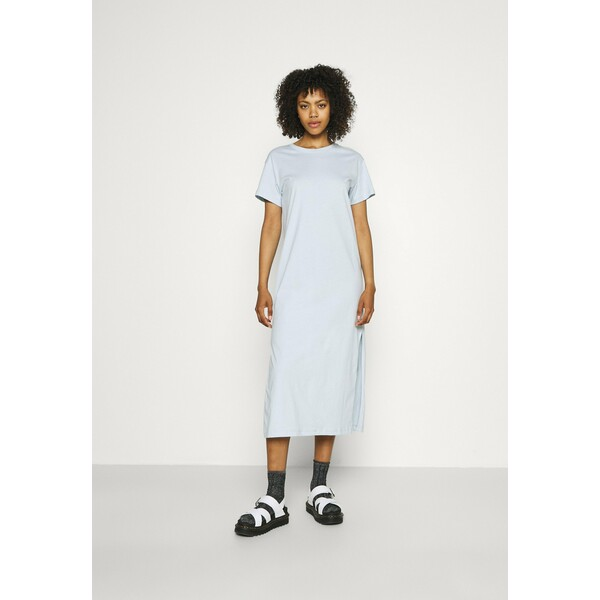 Weekday ALANIS DRESS Długa sukienka light blue WEB21C05Y