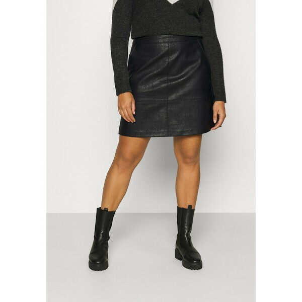ONLY Carmakoma CARLISA SKIRT Spódnica trapezowa black ONA21B01O
