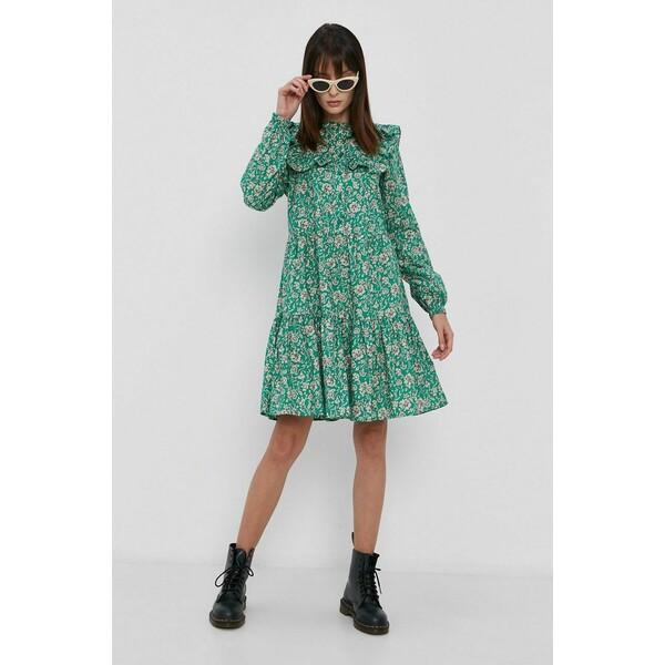 Vero Moda Sukienka bawełniana 10263420.PepperGree