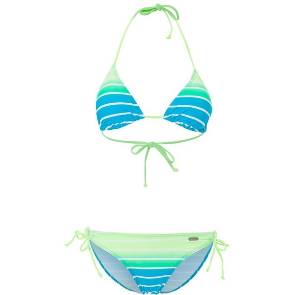 Venice Beach Bikini turquoise striped 2VE41H007