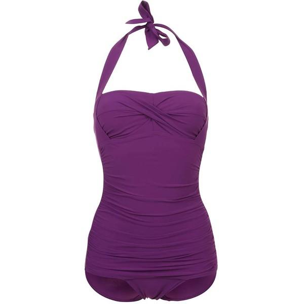 Speedo CRYSTALSUN Kostium kąpielowy purple 1SP41H01K