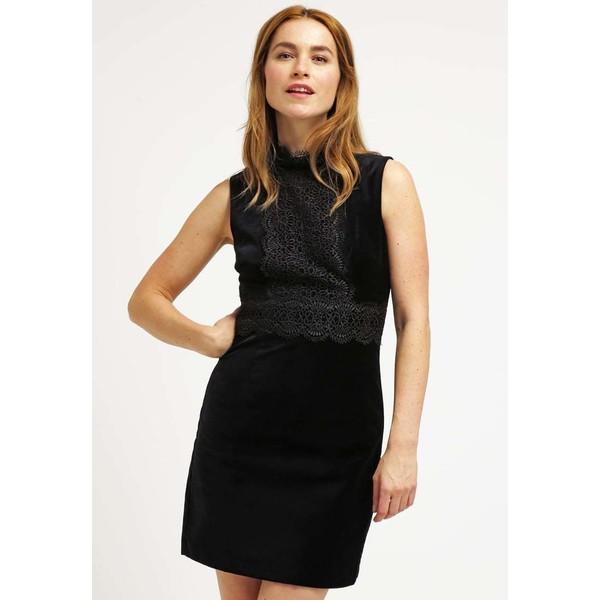 Warehouse Sukienka etui black WA221C082
