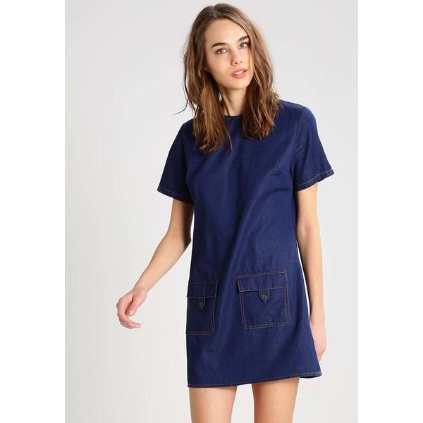 Dorothy Perkins Sukienka jeansowa mid wash DP521C0ZV
