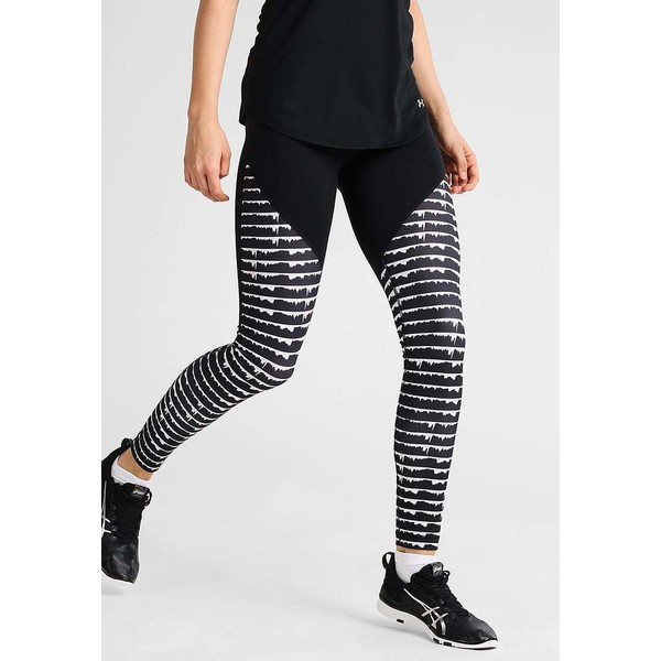 Under Armour MIRROR Legginsy black UN241E04G