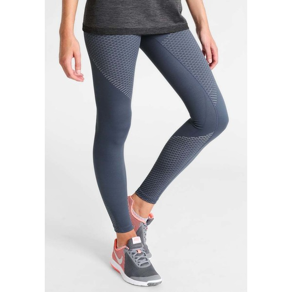 Nike Performance ZONAL STRENGTH Legginsy thunder blue/light armory blue N1241E0B4
