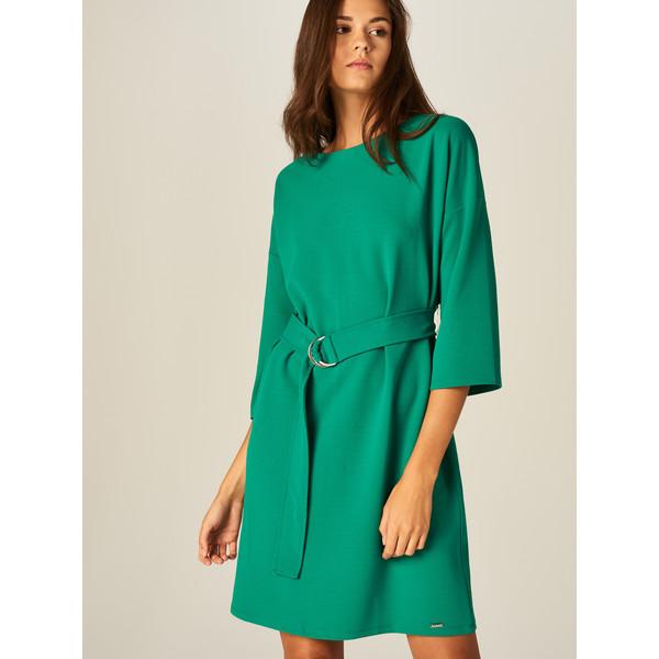Mohito Sukienka z rozszerzanymi rękawami TG884-76X
