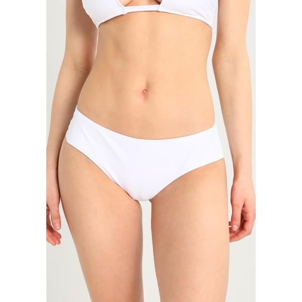 Calvin Klein Swimwear HIPSTER BRAZILIAN Dół od bikini white C1781I00C