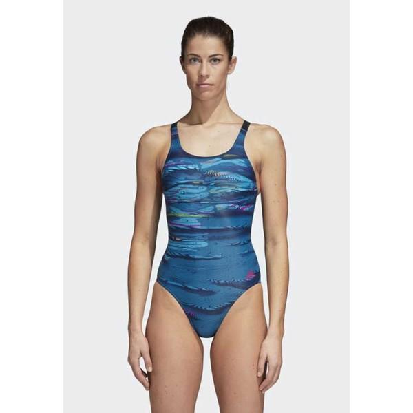 adidas Performance PARLEY Kostium kąpielowy blue AD581G01U