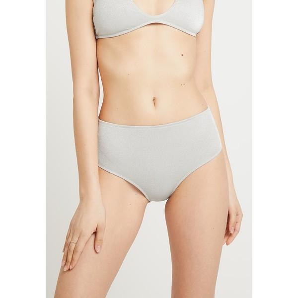 Roxy HAILEY BIEBER H AND K FULL MID WAIST Dół od bikini grey RO581I021