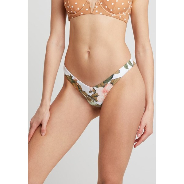 Rip Curl HANALEI BAY REVO SKIMPY PANT Dół od bikini white RI781I014